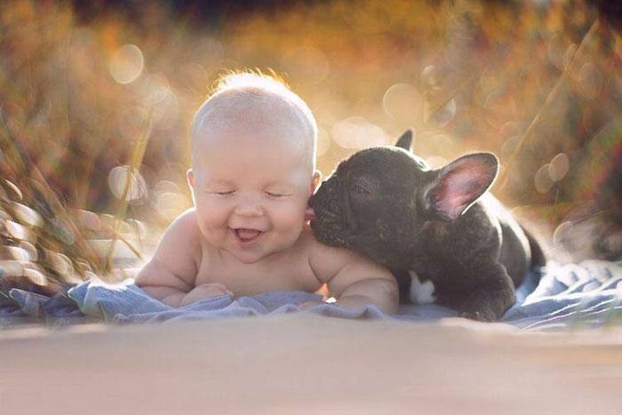 cute kids with dogs 2