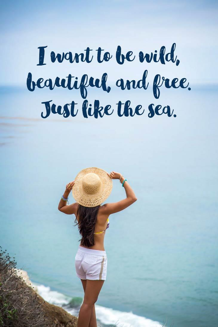 A collection of Inspirational Quotes About the Sea and the ...