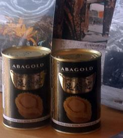 tinned abalone