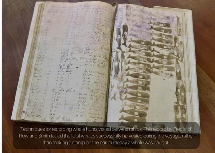 whaling logbook entry
