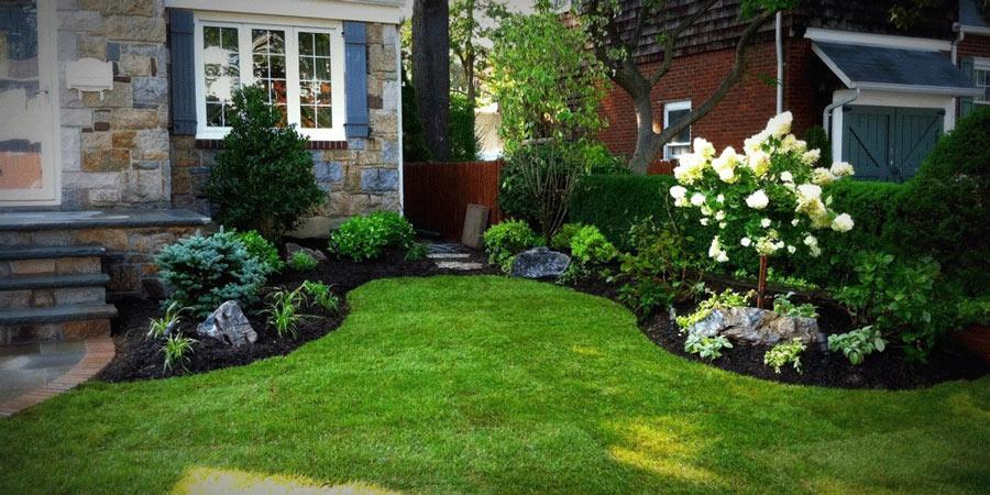 Curb Appeal Landscaping Home