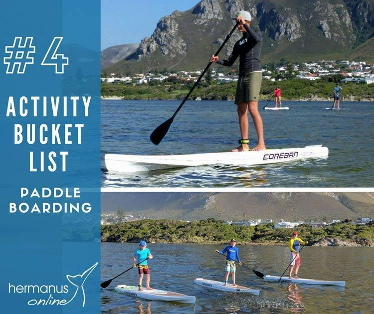 Activity bucketlist 4paddle