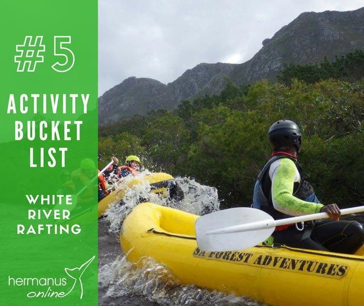 Activity bucketlist 5 rafting