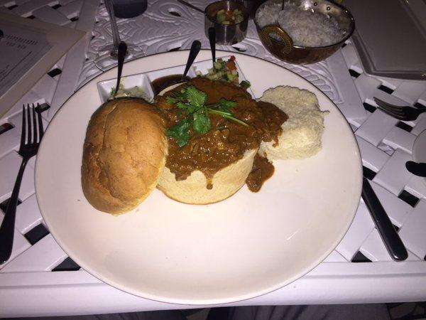 Richard quest bunny chow