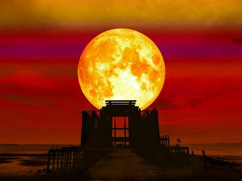Blood moon Lunar eclipses have been shrouded in superstition since time immemorial