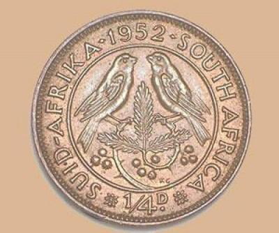 Two sparrows on the Humblest Coin in South Africa