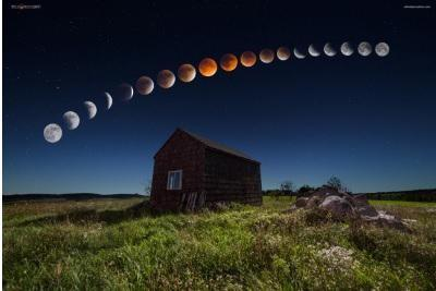 2019 Starts With A Rare Cosmic Event: A Total Lunar Eclipse AND A Super Blood Moon