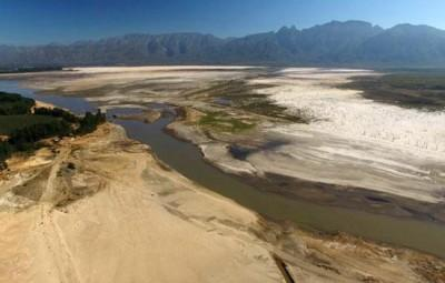 Latest water levels of all the dams in the Western Cape - 18 September 2017