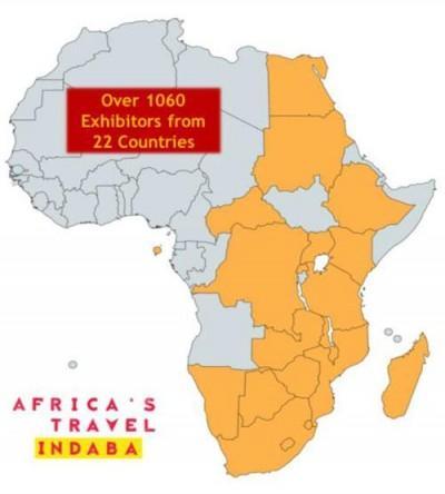 Africa's Travel Indaba 2018 statistics
