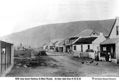 Harbour Road in Hermanus from yesteryear…
