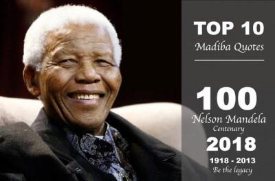 My top 10 Nelson Mandela's Quotes in 2018