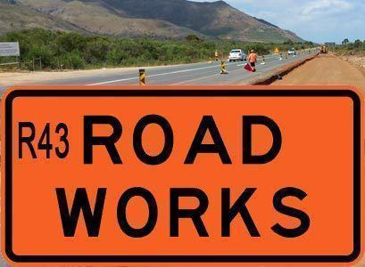 Road project on the R43 between Bot River and Hermanus schedule