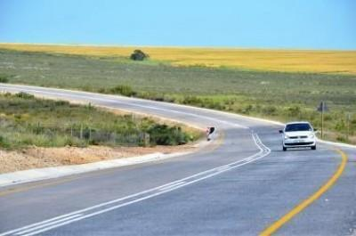 New Tarred Road between Gansbaai and Bredasdorp Opens