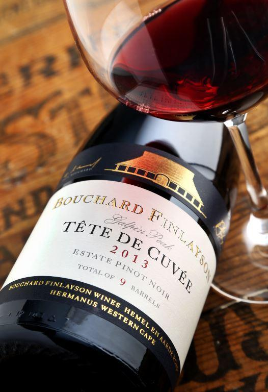 Bouchard Finlayson 2013 Tête de Cuvée Galpin Peak Pinot Noir takes gold medal at the international Six Nations Wine Challenge 2018