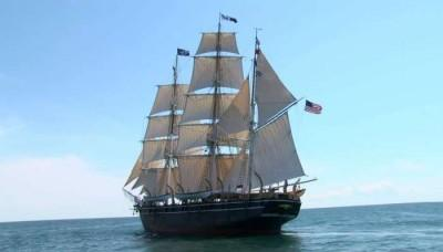 The world's last remaining wooden whaling ship (172 years old) has sailed again to save the whales
