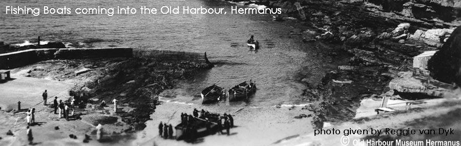 The man who built the first fishing Boats in Hermanus