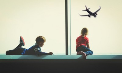 5 Handy Hints for flying with kids this Christmas