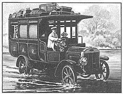 Hermanus station - 75 years of road transport