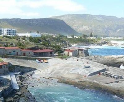 Hermanus, a popular a seaside village in South Africa