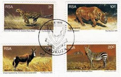 Endangered animals of South Africa