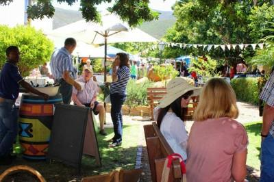 Visit one of the many Saturday morning Markets in Hermanus