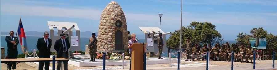 Remembrance Day 2013 @ The War Memorial in Hermanus