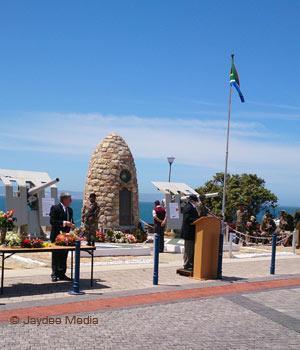 Remembrance Day 2013 @ The War Memorial in Hermanus