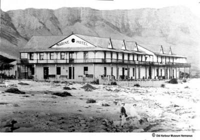 The Grand Old Lady, also known as the Marine Hotel in Hermanus