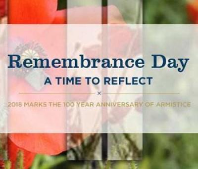 Today [11 November 2018] marks 100 years since the Armistice was signed in November 1918, bringing an end to the First World War.