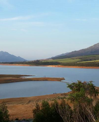 Dam levels in the Western Cape on 16 October 2017