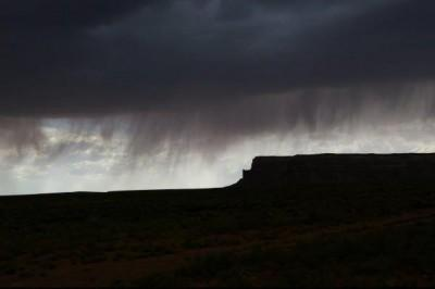 Virga is rain that does not reach the ground